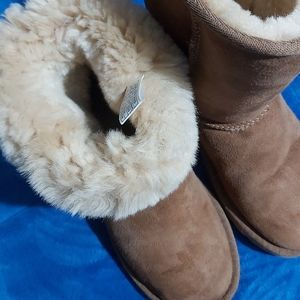 CHESTNUT CLASSIC UGG SIZE 6 FIT WOMENS 7 LIKE NEW
